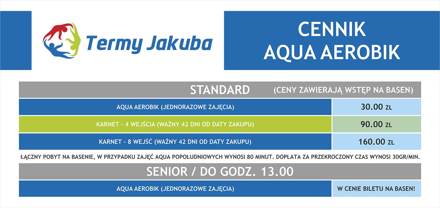 Cennik Aqua