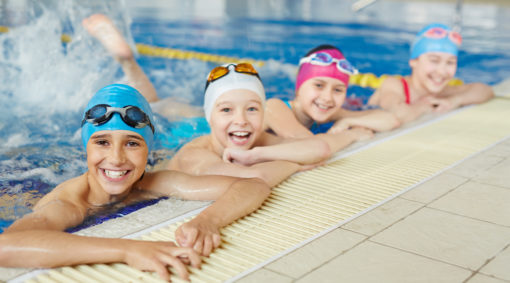 baner nauka pływania