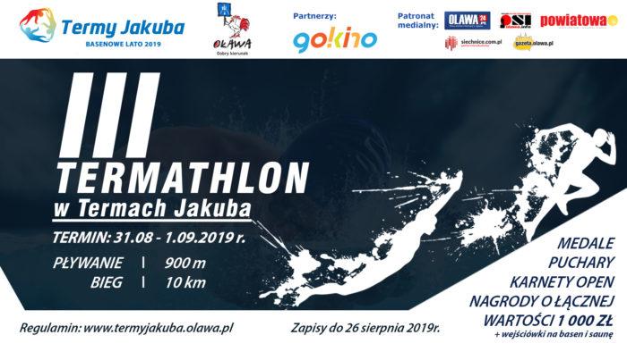 plakat 3 termathlonu 2019