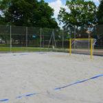 Boisko plażowe piłka nożna