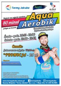 plakat aqua aerobiku