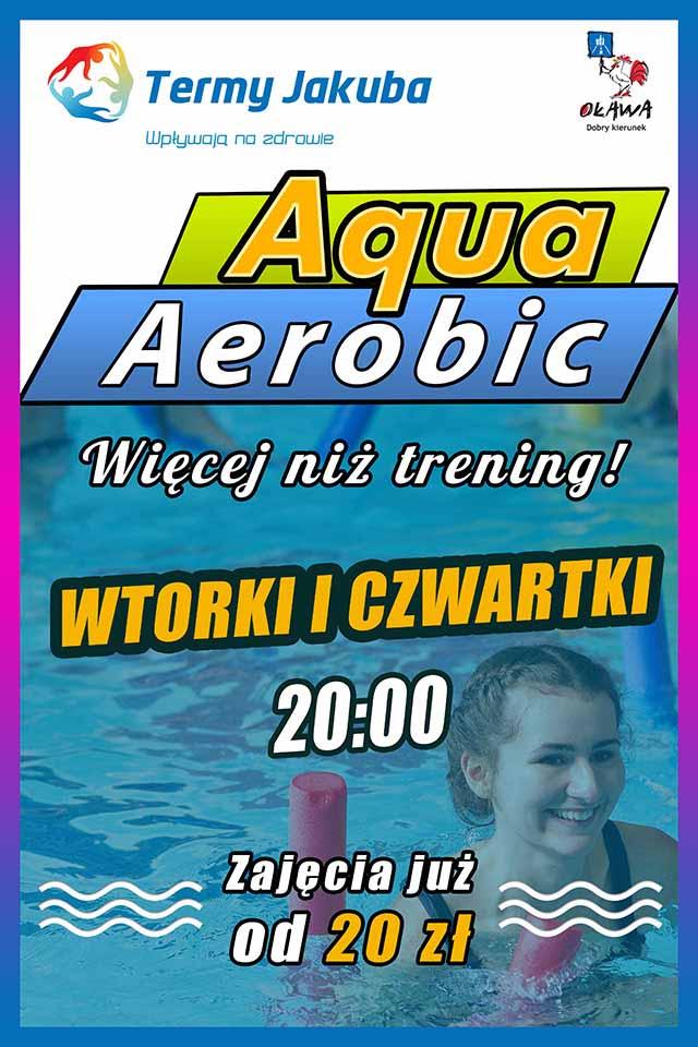 aqua aerobik plakat sezon 2021