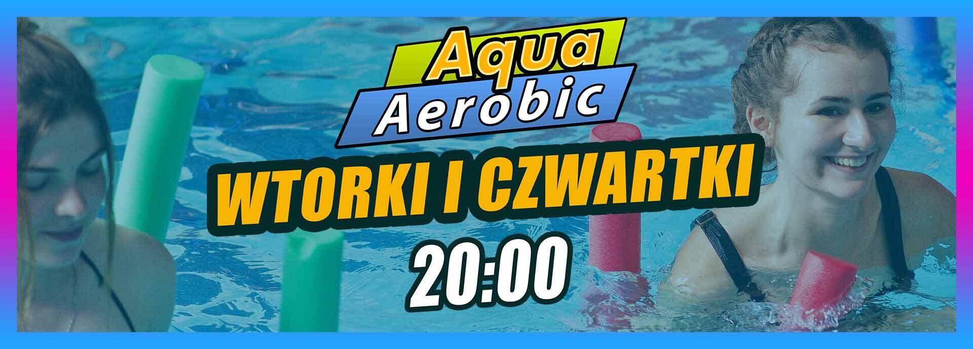 baner na stronę główną Aqua Aerobik
